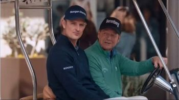 Mastercard TV Spot, 'Tap & Go: Coffee Stand' Featuring Justin Rose, Tom Watson - Thumbnail 6