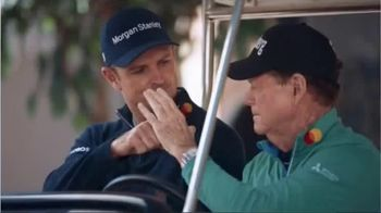 Mastercard TV Spot, 'Tap & Go: Coffee Stand' Featuring Justin Rose, Tom Watson - Thumbnail 7
