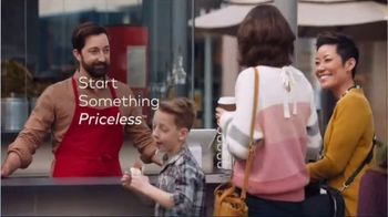 Mastercard TV Spot, 'Tap & Go: Coffee Stand' Featuring Justin Rose, Tom Watson - Thumbnail 9