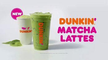 Dunkin' Matcha Lattes TV Spot, 'Refresh' - Thumbnail 10