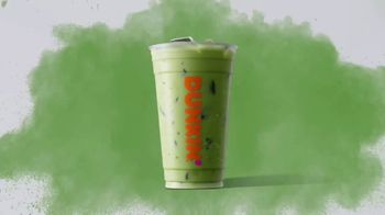 Dunkin' Matcha Lattes TV Spot, 'Refresh'