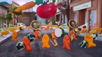Goldfish Veggie Crackers TV Spot, 'Parade'