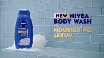 Nivea Nourishing Body Wash With Nourishing Serum TV Spot, 'Enriched' - Thumbnail 8