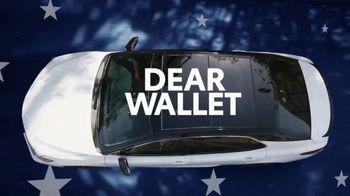 Toyota Presidents Day TV Spot, 'Dear Wallet' [T2] - Thumbnail 1