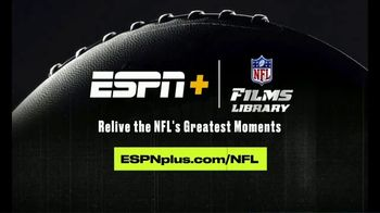ESPN+ TV Spot, 'NFL FIlms Library: Greatest Moments' Song by Sam Spence - Thumbnail 9
