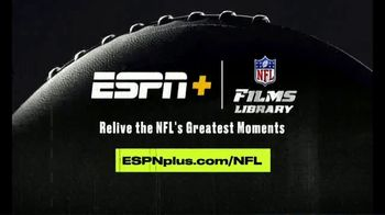 ESPN+ TV Spot, 'NFL FIlms Library: Greatest Moments' Song by Sam Spence - Thumbnail 8