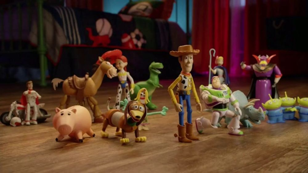 Mattel TV Commercial, 'Toy Story Action Figures'