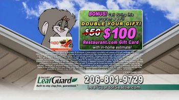 LeafGuard of Seattle Spring Blowout Sale TV Spot, 'Tired' - Thumbnail 7