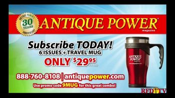 Aumann Vintage Power TV Spot, 'Antique Power: Free Mug With Year Subscription' - Thumbnail 8