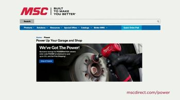 MSC Industrial Supply TV Spot, 'In the Garage and the Shop' - Thumbnail 6