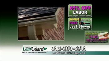 LeafGuard of Chicago Spring Blowout Sale TV Spot, 'Messy Spring Chore' - Thumbnail 9