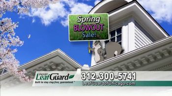 LeafGuard of Chicago Spring Blowout Sale TV Spot, 'Messy Spring Chore' - Thumbnail 3