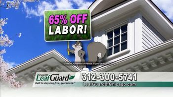 LeafGuard of Chicago Spring Blowout Sale TV Spot, 'Messy Spring Chore' - Thumbnail 4