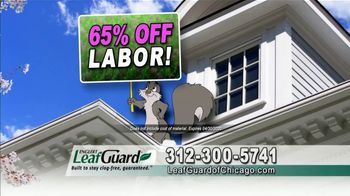 LeafGuard of Chicago Spring Blowout Sale TV Spot, 'Messy Spring Chore' - Thumbnail 5