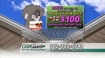LeafGuard of Chicago Spring Blowout Sale TV Spot, 'Messy Spring Chore' - Thumbnail 7