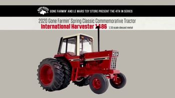 Le Mars Toy Store International Harvester 1486 TV Spot, '2020 Spring Classic'