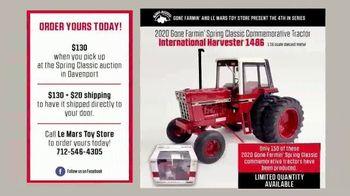 Le Mars Toy Store International Harvester 1486 TV Spot, '2020 Spring Classic' - Thumbnail 5