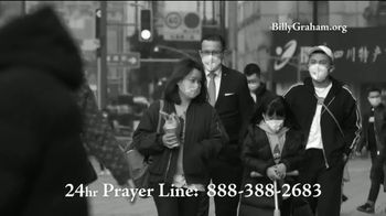 Billy Graham Evangelistic Association TV Spot, 'Gripped by Fear' - 240 commercial airings