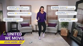 Planet Fitness TV Spot, 'Bringing the Workout to You: Home Work-Ins' - Thumbnail 5
