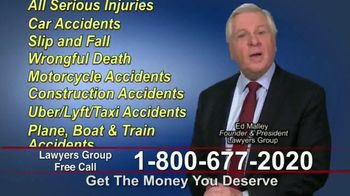 Lawyers Group TV Spot, 'Get the Money You Deserve'