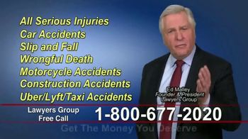 Lawyers Group TV Spot, 'Get the Money You Deserve' - Thumbnail 2