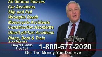 Lawyers Group TV Spot, 'Get the Money You Deserve' - Thumbnail 3