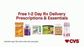 CVS Health TV Spot, 'Free Prescription Delivery' - Thumbnail 5