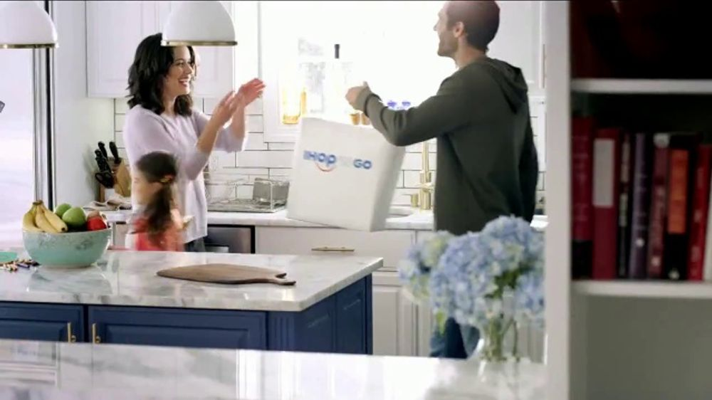 IHOP 'n Go TV Commercial, 'The Comfort of Pancakes From the Comfort of Home'