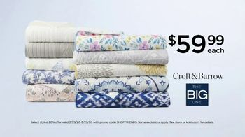Kohl's Friends + Family Sale TV Spot, 'Denim, Quilts and Graphic T-Shirts' - Thumbnail 5