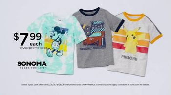 Kohl's Friends + Family Sale TV Spot, 'Denim, Quilts and Graphic T-Shirts' - Thumbnail 7