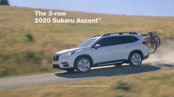 Subaru A Lot to Love Event TV Spot, '2020 Ascent' [T2] - Thumbnail 2