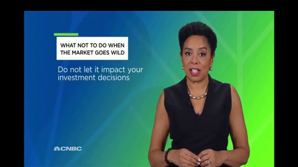 Acorns TV Commercial, 'CNBC: Wild Market' Featuring Sharon Epperson