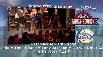 Country's Family Reunion TV Spot, '2020 Larry's Country Diner Cruise' Song by Rhonda Vincent - Thumbnail 9