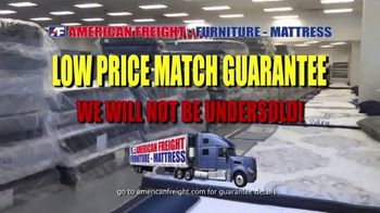 American Freight TV Spot, 'Grand Opening: Mattresses and Same Day Delivery' - Thumbnail 2