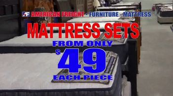 American Freight TV Spot, 'Grand Opening: Mattresses and Same Day Delivery' - Thumbnail 3