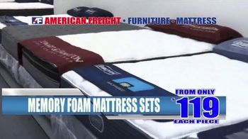 American Freight TV Spot, 'Grand Opening: Mattresses and Same Day Delivery' - Thumbnail 4