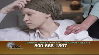 The Sentinel Group TV Spot, 'Ovarian Cancer and Talcum Powder Alert'