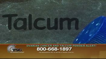 The Sentinel Group TV Spot, 'Ovarian Cancer and Talcum Powder Alert' - Thumbnail 8