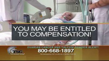 The Sentinel Group TV Spot, 'Ovarian Cancer and Talcum Powder Alert' - Thumbnail 7