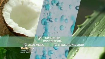 Healthvana Hydroclean Hand Sanitizer Foam TV Spot, 'Kills 99.9% of Germs'