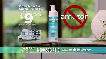 Healthvana Hydroclean Hand Sanitizer Foam TV Spot, 'Kills 99.9% of Germs' - Thumbnail 8