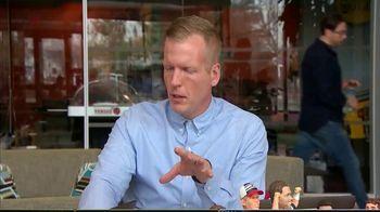 Chris Simms Unbuttoned TV Spot, 'Superstars at the Combine'