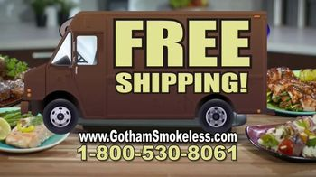Gotham Smokeless Grill TV Spot, 'Barbecue Inside: Free Griddle' - Thumbnail 5