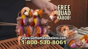 Gotham Smokeless Grill TV Spot, 'Barbecue Inside: Free Griddle' - Thumbnail 7