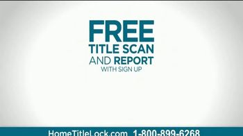 Home Title Lock TV Spot, 'Free Title Scan and Report' - Thumbnail 4