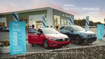 Volkswagen Not So Standard Spring Event TV Spot, 'Sign Then Drive Standard' [T2] - Thumbnail 5