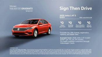 Volkswagen Not So Standard Spring Event TV Spot, 'Sign Then Drive Standard' [T2] - Thumbnail 6