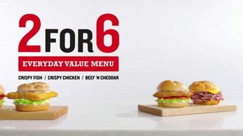 Arby's 2 for $6 Everyday Value Menu TV Spot, 'Happy'