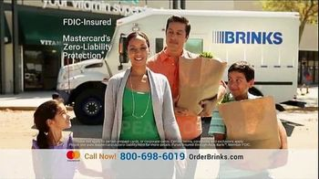 Brink's Prepaid MasterCard TV Spot, 'Peace of Mind: Savings Account' - Thumbnail 5