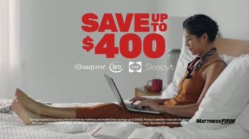 Mattress Firm Semi-Annual Sale TV Spot, '50 % Off: Free Adjustable Base' - Thumbnail 3
